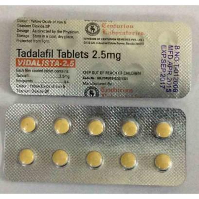 Cialis 2.5 mg