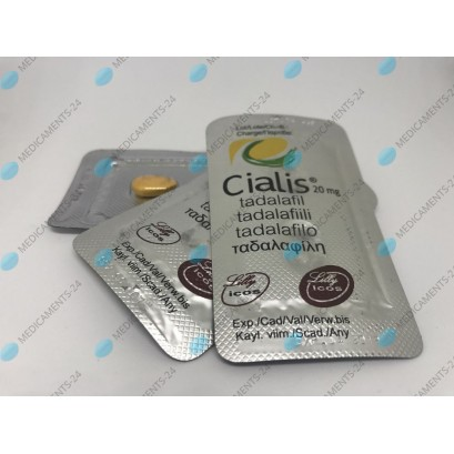 Cialis 20 mg (Original par Eli Lilly)