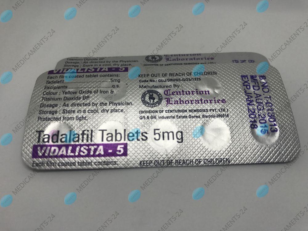 Medicament cialis 5mg